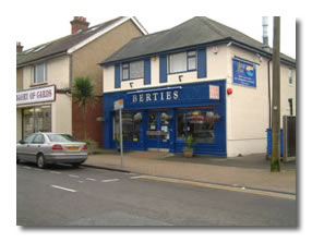 Berties Fish and Chip Shop Restaurant